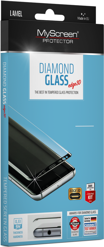 DIAMOND GLASS edge 3D